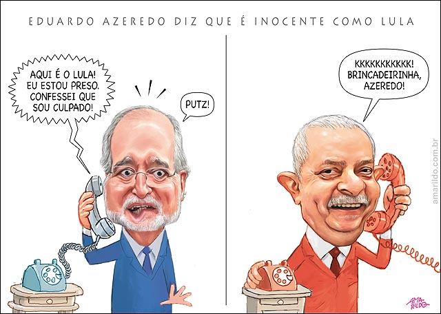 EDUARDO AZEREDO SE DIZ INOCENTE COMO LULA 2