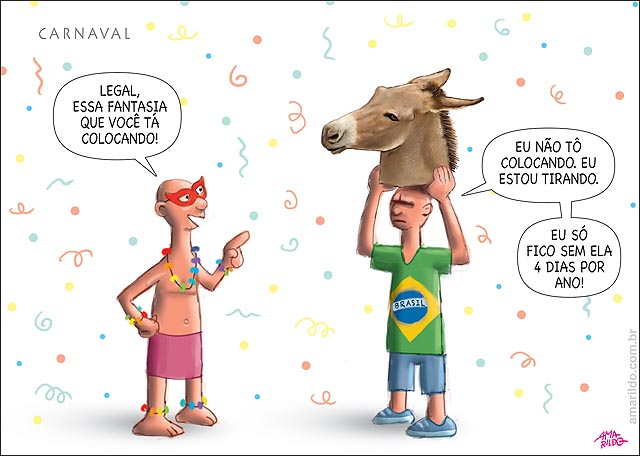 Macara de burro carnaval tira 4 dias