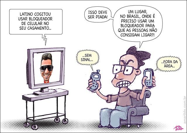 Latino Casamento Bloquador de celular