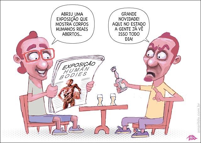 Exposicao Corpos ES bar mesa bebendo Normal aqui
