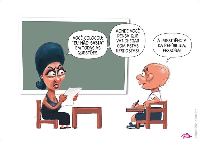 Dilma Petrobras eu nao sabia escola aluno chegar presidencia professora