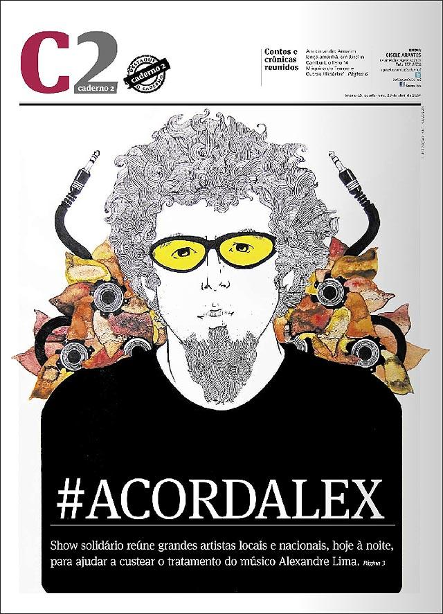 #ACORDALEX  - Show Viva Alex Lima -