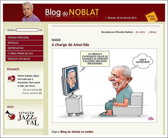 blog noblat Collor absolvido