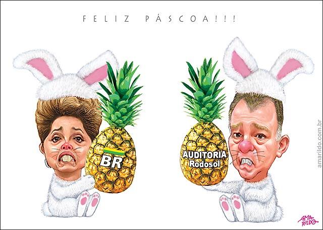 Dilma hartung casagrande Coelho Pascoa Abacaxi petrobras