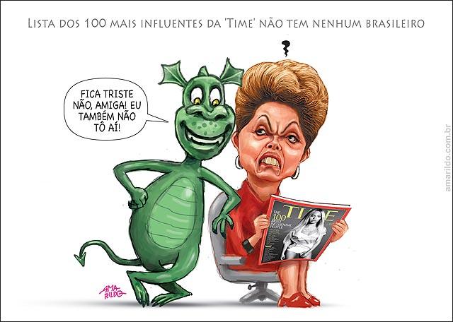 Dilma Times 100 mais influentes dilma fora inflacao tambem