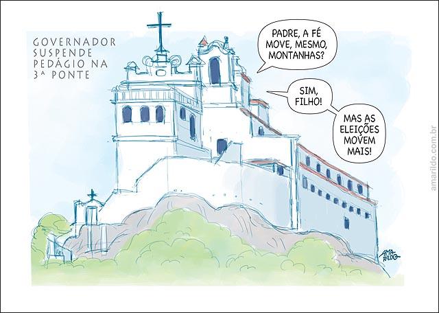 Casagrande Acaba Pedagio Convento da Penha eleicao  B