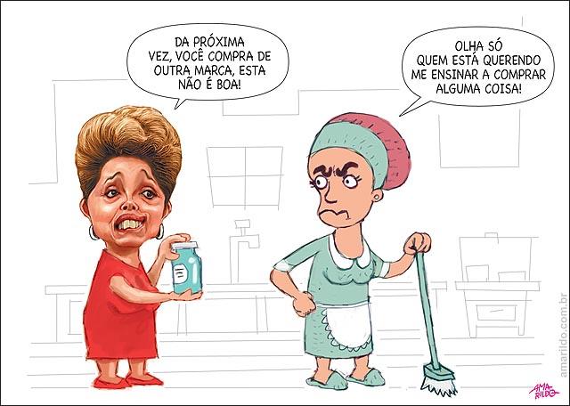 Dilma empregada compra marca ruim Petrobras pasadena
