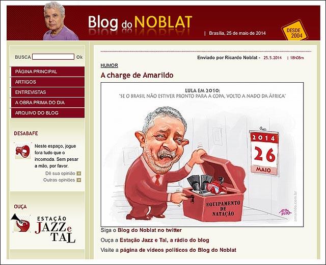 blog noblat lula natacao