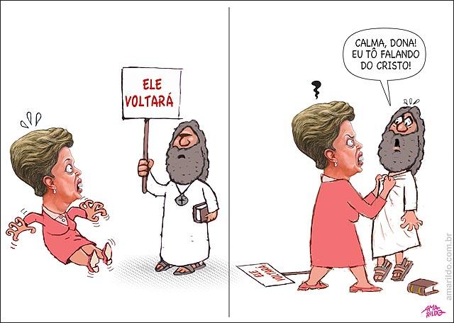 Dilma vollta Lula fim esta proximo bate no profeta