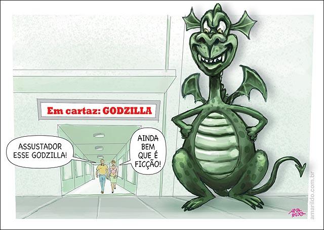 Inflacao Cinema Godzilla Ficcao