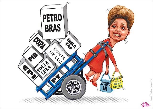 Dilma carroca peso denuncias b