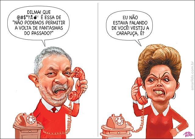 Lula Telefone dilma fantasmas do passado b