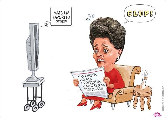 Dilma Copa Favpritos perdem eliminados zebra jornal tv sofa