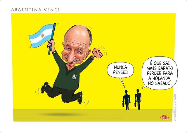 Copa Felipao Torce Pela Argentina para nao enfrentar na final