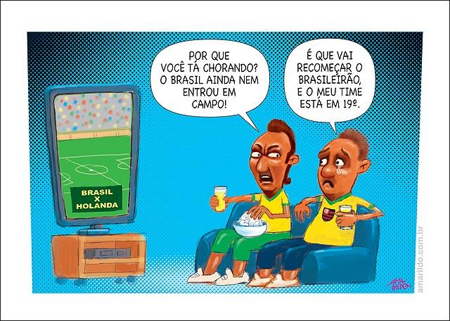 Copa torcedor flamengo chora 19 brasileirao vai voltar tv sofa pipoca cerveja