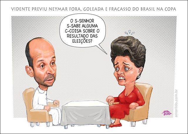 Vidente preve fracasso do brasil na copa Dilma consultando eleicao