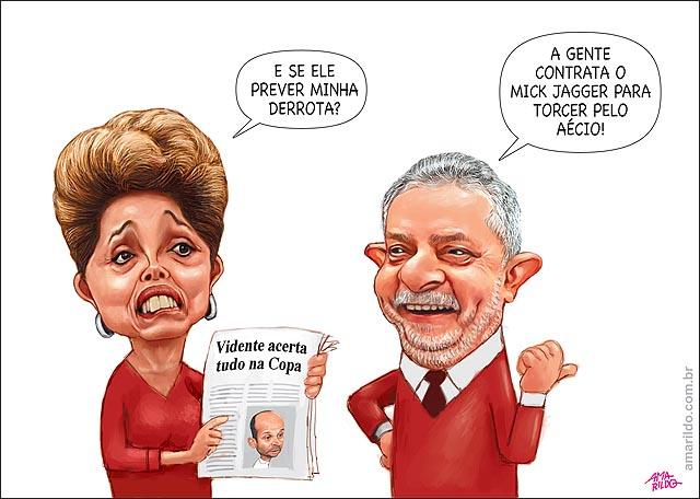 Dilma Lula Viedente x Mick Jagger