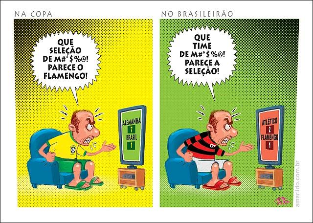 Copa Brasil parece o flamengo no Brasileiro Flamengo parece o brasil