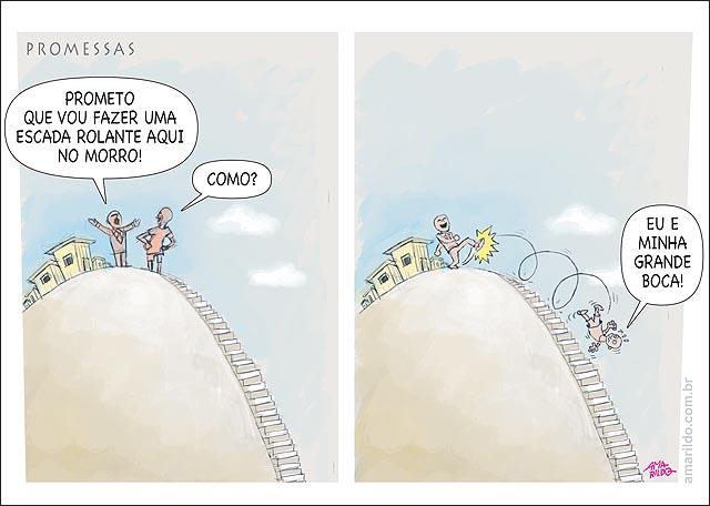 Dilma promessa escada rolante morros de vitoria