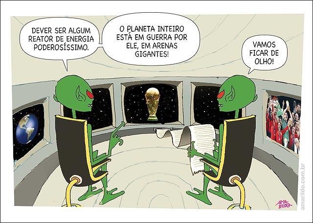 Disco Voador dentro ET Copa BRASIL Trofeu poderoso 2014 2