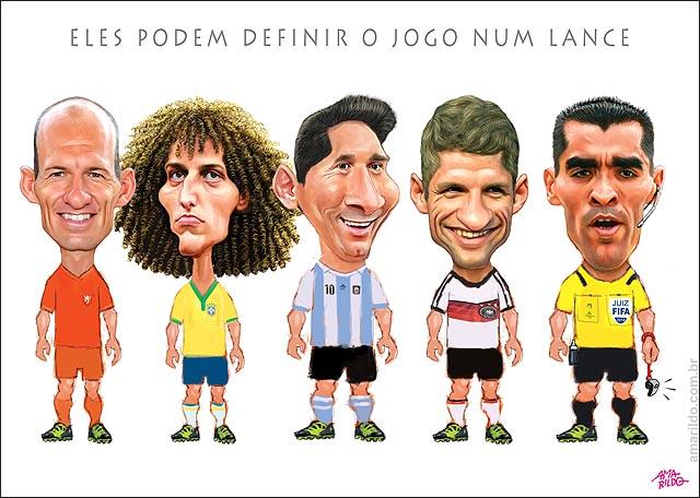 Copa Juiz decide o jogo Robben Messi Muller Davi Luiz