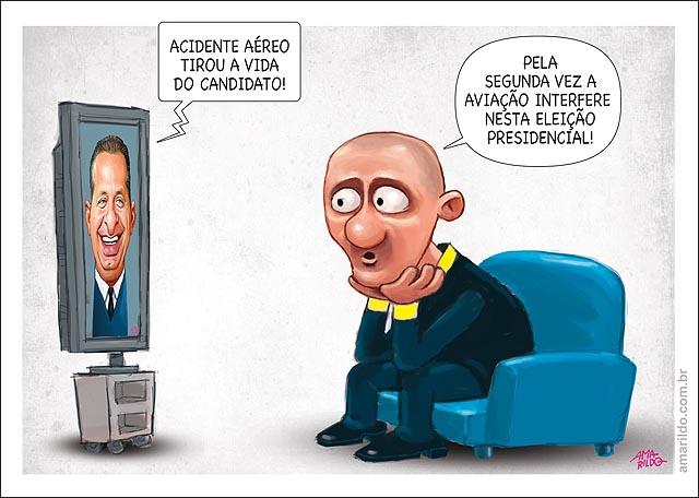 Morre eduardo campos acidente aereo interfere na eleicao presidente tv sofa