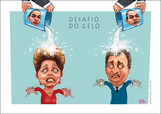Dima Aecio balde de Agua fria Fundos Desafio do gelo Famosos Esclesose Lateral Amiotrofica
