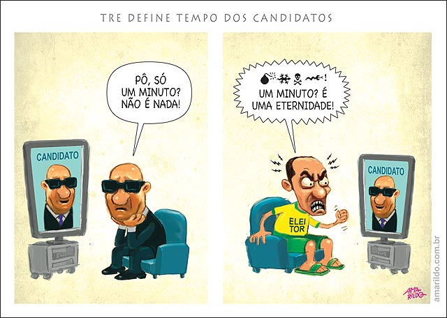 Horario eleitoral gratuito tempode tv para candidato e para o eleitor jornal C