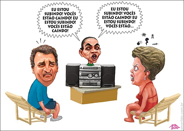 Marina sobe Dilma e aecio caem cumpadi washigton  Bom negocio