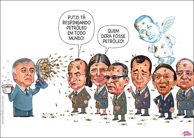 Petrobras Propina Paulo Roberto Costa Empreiteiras Renan Lobao Roseana Cabral Henrique alves Candido Vacarezza Pasadena Doleiro B