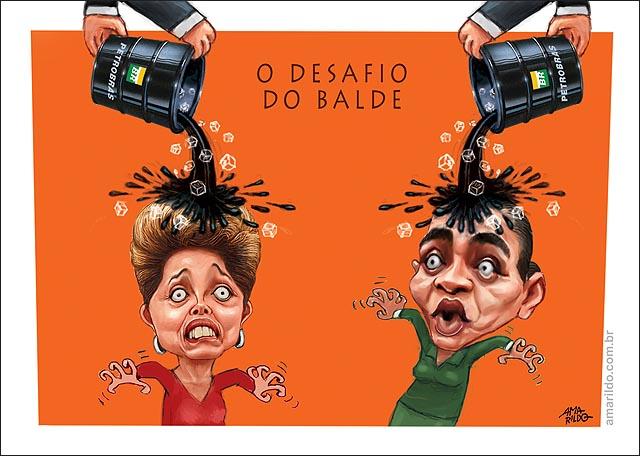 Dima Marina Petrobras Propina Paulo Roberto Costa desafio do Balde