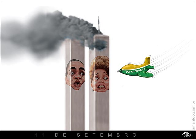 11 de setembro petrobras dilma marina toores gemeas world trade center