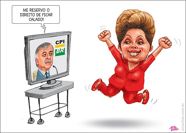 Paulo roberto costa nao fala na cpi dilma vibra tv petrobras
