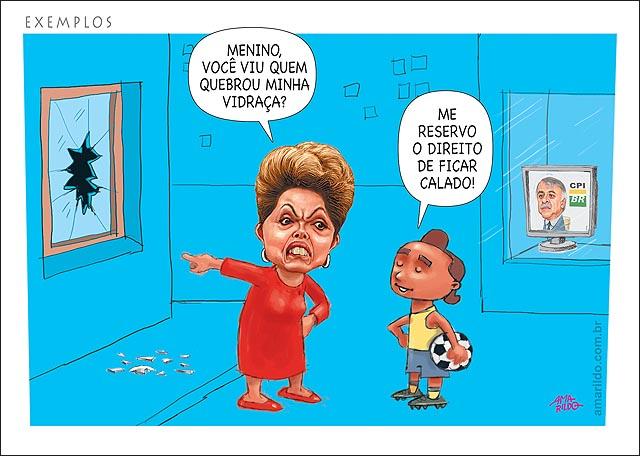 Dilma Petrobras Depoimento cpi mae filho quem vidraca quebrada rua vendo muito cpi tv