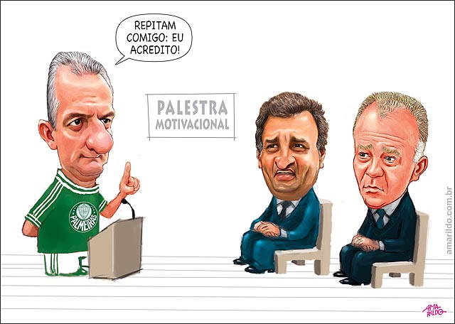 Dorival Junior Palmeiras aecio casagrande desesperados anonimos reuniao palestra motivacional