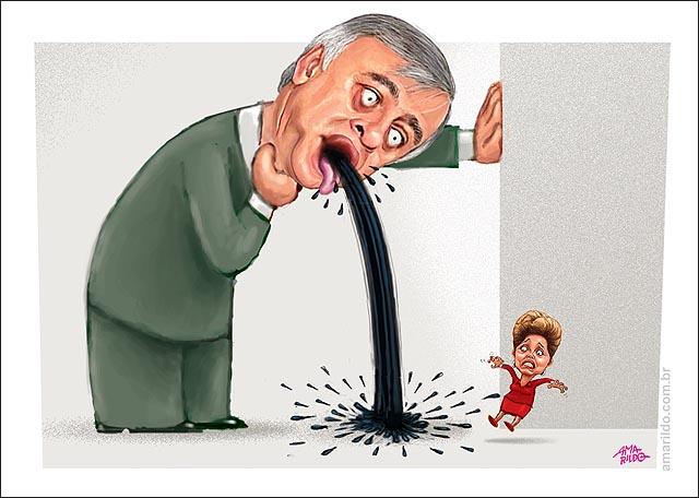 Petrobras Paulo Roberto Costa Depoimento CPI Vomita petroleo dilma marina politicos eleicao