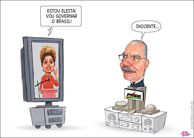Dilma eleita congresso sarney pmdb incente nao sabe de nada B