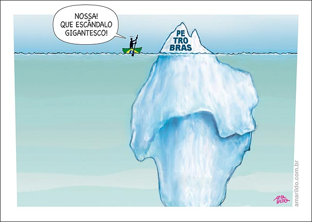 Escandalo petrobras iceberg ponta