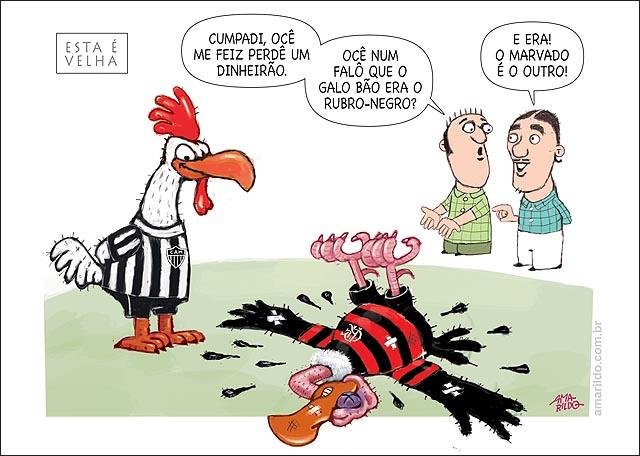 Flamengo x Atletico Galo Urubu Galo Bom x Galo Marvado Mineiro 2014