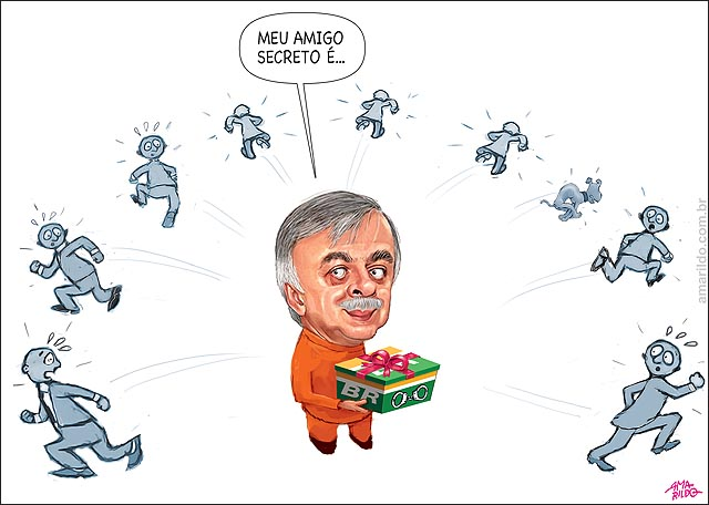 Paulo Roberto petrobras presente amigo x algema