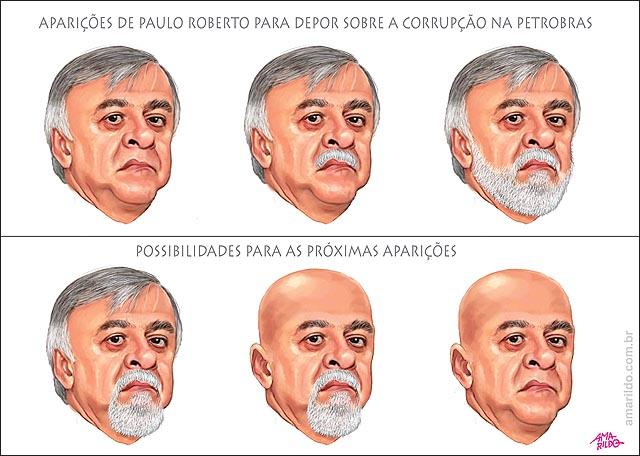 Paulo Roberto Costa Petrobras barba cabelo bigode careca cavanhaque