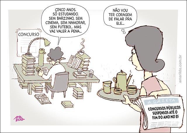 Concursos Publico suspenso no es hartung aluno estudando 3 anos sem folga
