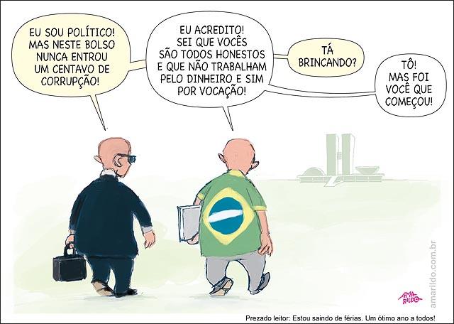 Politico falando que e honesto Brasileiro diz que acredita Ta brincando