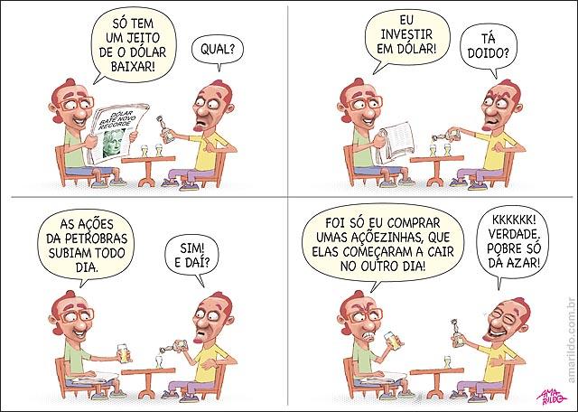 Nossa charge de hoje em A Gazeta: A raposa e... ... as raposas www.amarildo.com.br