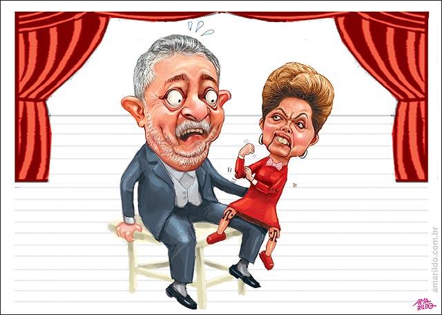 Dilma fontoche Lula da banana