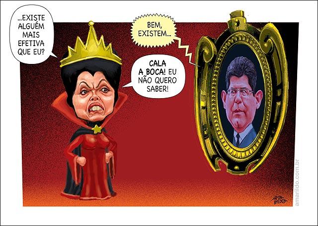 Dilma Bruxa espelho macdrasta joaquim levy