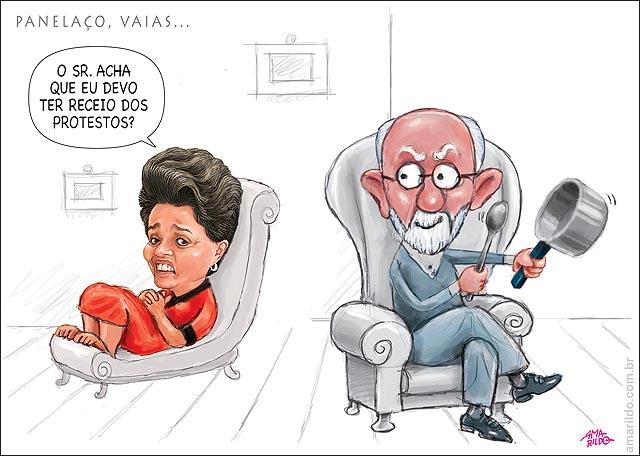Dilma PsIcanalista Freud panela panelaco vaia