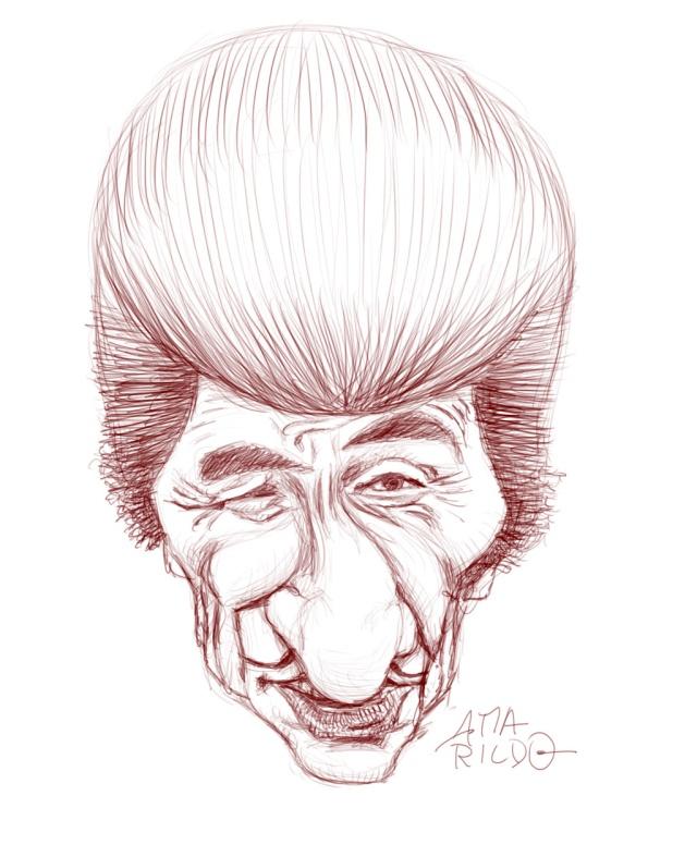 Ze Bonitinho Caricatura Sketch Part 00
