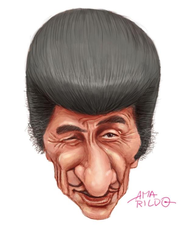 Ze Bonitinho Caricatura Sketch Part 01