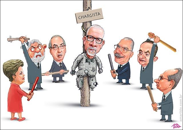 Amarildo Malhacao de Judas por politicos Dilma Lula Renan Cunha Collor